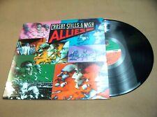 VINYL RECORD ALBUM,CROSBY,STILLS & NASH ALLIES,FOR WHAT ITS WORTH,WAR GAMES