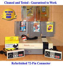 Nes Console Bundle + Super Mario Bros 1 2 3 + Zelda & Link -Best Pins-Guaranteed