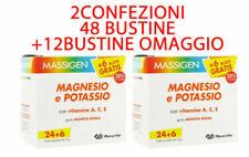 MASSIGEN Magnesio e Potassio 24 buste + 6 OMAGGIO 2 CONFEZIONI 60 BUSTINE