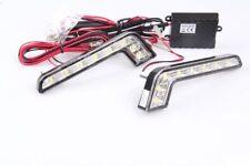 Forme de L LED 6000k 12v DRL tfl FEUX DIURNES 8 smd tüv libre + r87 Module Honda