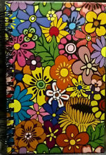 Spiral Journal Flowers Medium Lined Both Sides NEW! PICCADILLY 200 PGS. 8.5x5.5