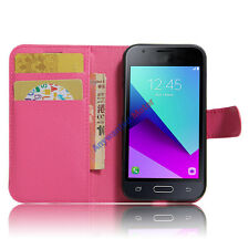 Vintage PU Leather Wallet Flip Stand Case Cover For Samsung Galaxy J1 Mini Prime