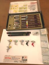 More details for vintage rotring pen set and accessories