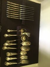 Sterling Silver Towle Old Master Flatware Service For Eight Plus and Free Ship