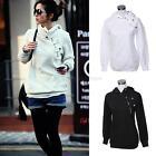 NEW Women Casual Long Sleeve Hoodie Sweatshirt Lady Coat Sweater Pullover Tops