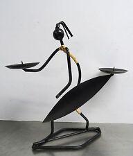 Rockabilly Kultiges string design - formschöner Kerzenhalter - mid century 50's