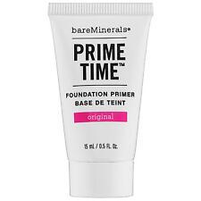 bareMinerals Prime Time Original Foundation Primer 15ml Travel Size