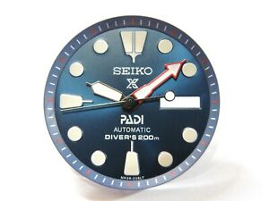 NEW SEIKO REPLACEMENT PADI DIAL,HANDS W/ MINUTE TRACK DAY/DATE WILL FIT SKX007