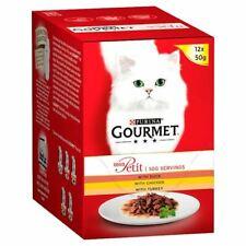 Gourmet Mon Petit Cat Food Poultry 12X50g