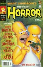 Treehouse of Horror 7 NM Bart Simpsons Mark Hamill Garth Ennis Stan Sakai HTF