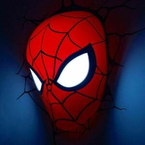 Marvel Spider-Man Mask 3D Deco Wall Light - Perfect Marvel Gift for Kids