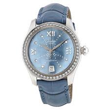 Glashutte Serenade Blue Mother Of Pearl Dial Ladies Watch 39-22-11-22-44