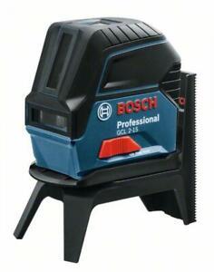 Bosch Professional Punkt- und Linienlaser GCL 2-15 mit Halterung RM 1, Karton, 1