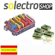 UNO R3 Atmega328P+ CNC SHIELD + 4x A4988 stepstick 3D impresora Arduino kit I002