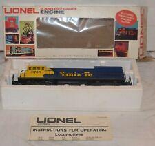 Lionel Trains 8755 Santa Fe Engine w/ Box