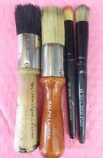Mixed Lot of Mixed Brands Stencil Brushes 4 pcs.