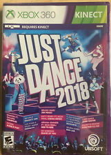 Just Dance 2018 (Microsoft Xbox 360, 2017) New Sealed Video Game