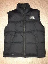 Men's The North Face Goose Down Puffer  Vest 700 Jacket Black Size Medium Zipper