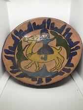 LARGE ANCIENT ISLAMIC NEAR EASTERN BYZANTINE ERA GLAZED TERRACOTTA BOWL