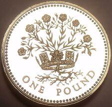 Rare Proof Great Britain 1991 Pound~10,000 Minted~DECUS ET TUTAMEN~Free Shipping