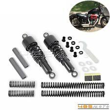Motorcycle Shock Absorbers Front Rear Lowering Slammer Kit For Harley Sportster