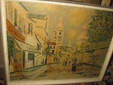 UTRILLO Maurice, *1883  Paris Montmartre  Farblithographie