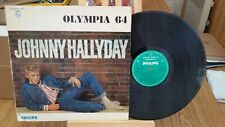 LP DE JOHNNY HALLYDAY OLYMPIA 64
