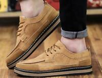 New England men's leather casual shoes Tie Non-slip shoes sports shoes sneakers