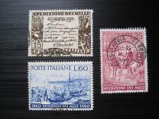 ITALIEN  MiNr. 1060-1062 gestempelt (M 182)