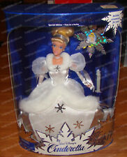 Holiday Princess Walt Disney'S Cinderella 1996 Barbie Doll