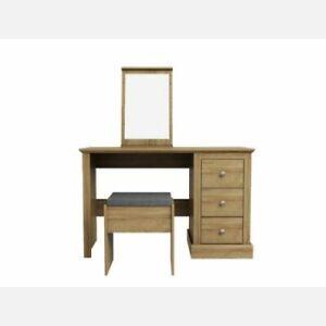 Devon Oak Dressing Table Set *BRAND NEW*