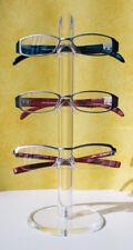 argus Acryl-Brillenhalter Fassungsdisplay Brillenständer Brillenablage Neu