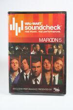Maroon 5 WalMart Soundcheck BRAND NEW DVD Brand New Adam Levine LIVE