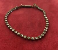 "Vintage Bracelet 7"" Rhinestone"