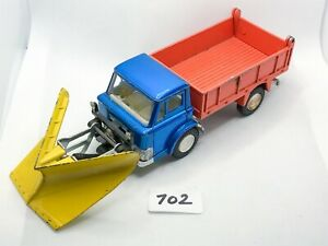 VINTAGE DINKY TOYS # 439 FORD D800 SNOW PLOUGH DIECAST MODEL TRUCK LORRY 1970