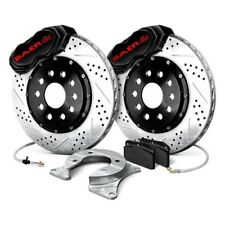 Dodge Charger 73-75 Drilled Slotted Brake Rotors FRONT