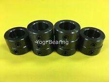 Solid Zinc Plated MSC-10 Metric 10mm Shaft Collar 50pcs Set Screw
