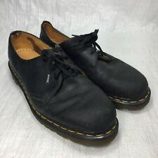 Vintage Doc Martens Black Soft Leather Three Eyelet Casual Mens Oxfords Sz 11