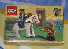 Lego Knights Kingdom 6026 KING LEO Silver Sword Gold Crown Xmas Present NEW!