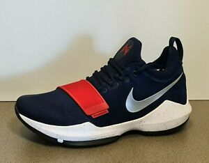 Nike PG 1 USA Olympic  US 11 pre-owned release 2017