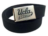 Custom Made UCLA Logo Canvas Web Belt & Buckle