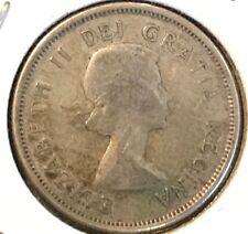 1956 Canadian Silver Quarter - 80% Silver Coin