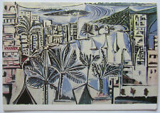 Picasso Art Postcard Bay of Cannes France