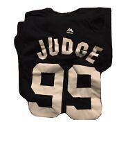 NEW MAJESTIC JUDGE YANKEES MENS T-SHIRT SIZE 4 XlMLB BASEBALL 100% Cotton