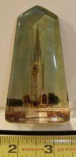 ANTIQUE ST. WULFRAM'S CHURCH ORIGINAL GRANTHAM PAPERWEIGHT LINCOLNSHIRE RARE