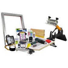 DIY Premium 1x1 Color Shocker Press Screen Printing Starter Beginner Kit - 11-6