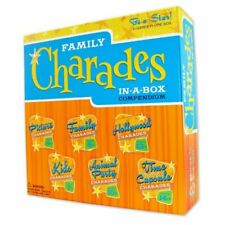 NEW Family Charades In A Box Compendium 6 Games in One Box AGES 4 & UP Sealed