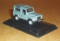 OXFORD DIECAST LAND ROVER DEFENDER 90 STATION WAGON 1:76 ORKNEY GREY MODEL TOY