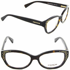 9651bd2a2e8 Coach Womens Hc6076 5120 Havana Plastic Cat Eye Eyeglasses