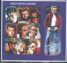 Great Movie Legends Commemorative Sheet of 9 #1971 Mnh - Grenada E35
